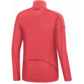 GORE WEAR M Veste thermique à manches longues avec zip Femme, hibiscus pink